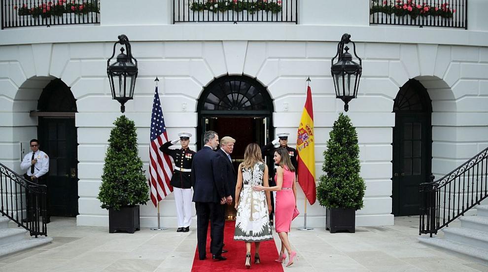 Тръмп се срещнаха с испанското кралско семейство