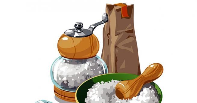 Солта е важна и ценна съставка от здравословното ни меню.