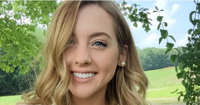 21-годишната Кортни Рейн, популярна онлайн влогърка и модел, разкри пред