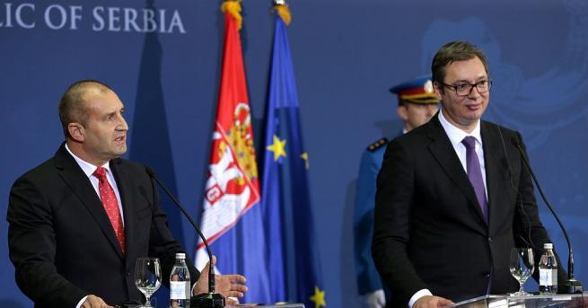 Радев и Вучич се договориха за решаване на проблемите на