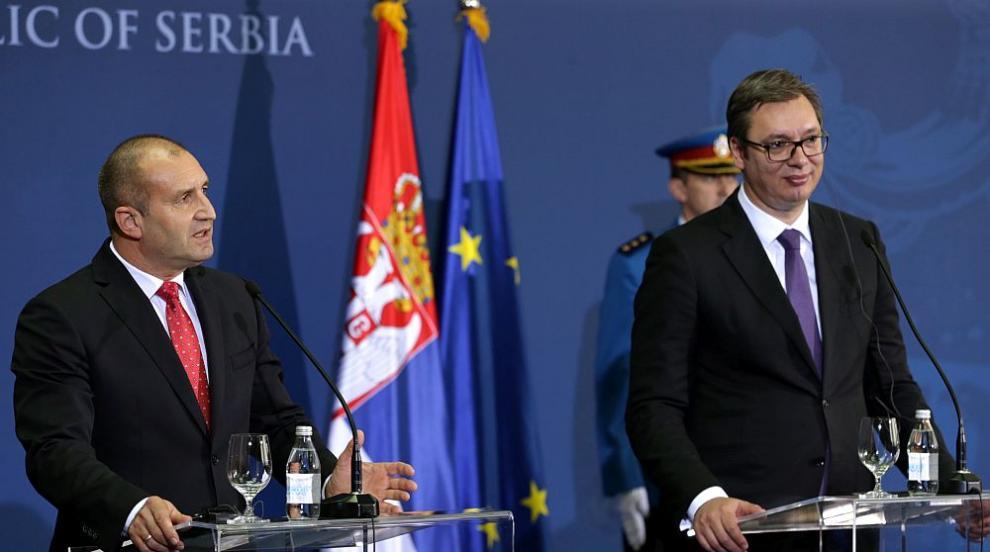 Радев и Вучич се договориха за решаване на проблемите на българското...