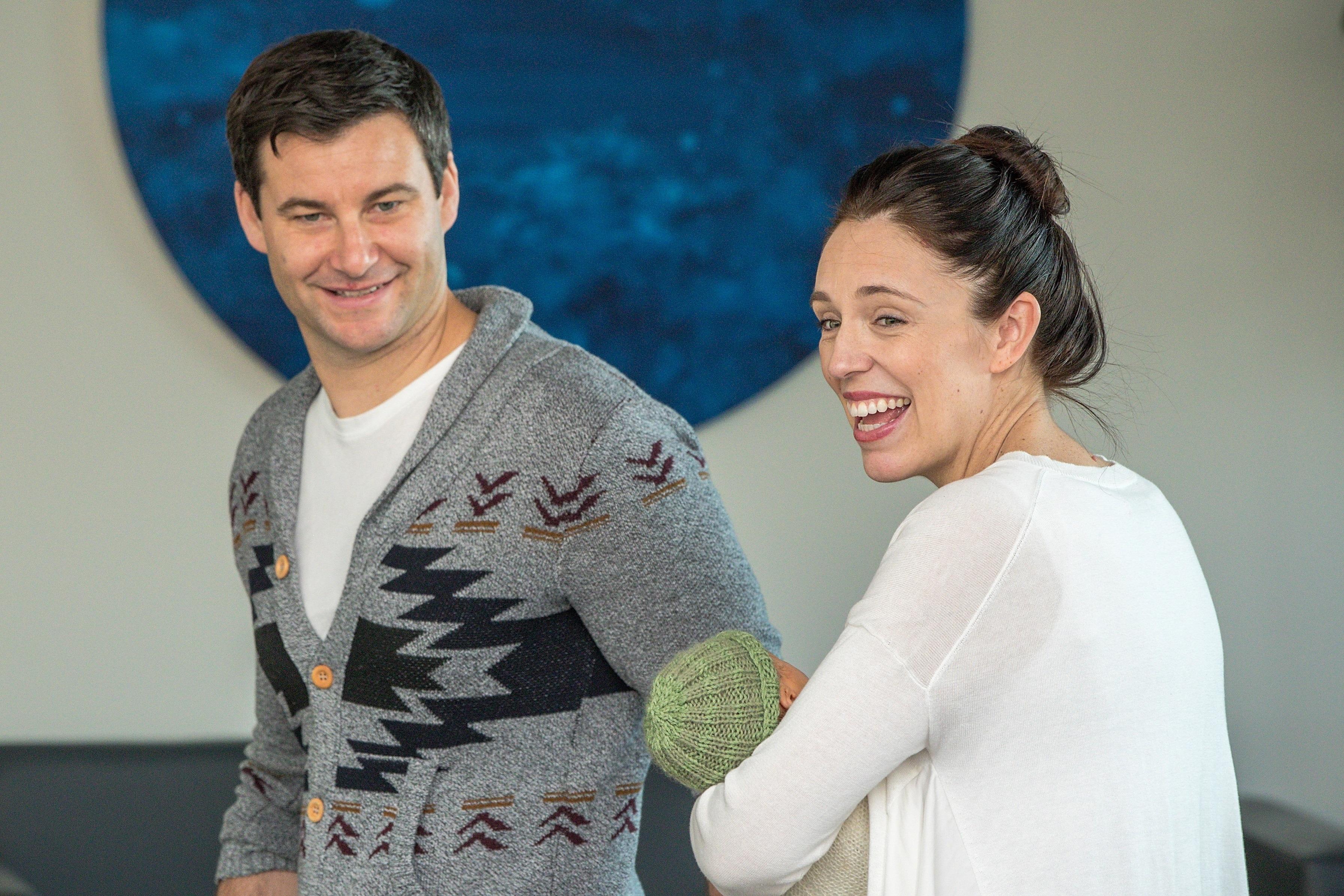 Ясинда Ардърн и партньорът ѝ са кръстили момиченцето си Нийв