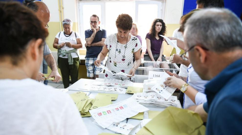 Почти е сигурна победата на Ердоган след изборите в Турция (ВИДЕО)