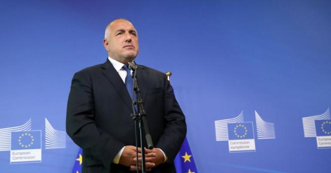 Премиерът Бойко Борисов заяви, че категорично България няма да приеме