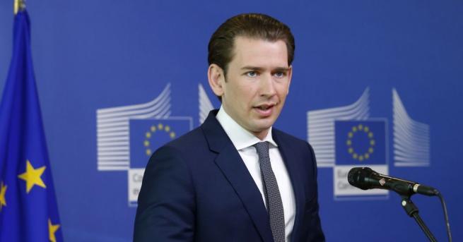 Австрийският канцлер Себастиан Курц ще бъде изправен пред вот на