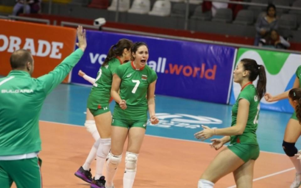 Волейболистките ни победиха Азербайджан в контрола