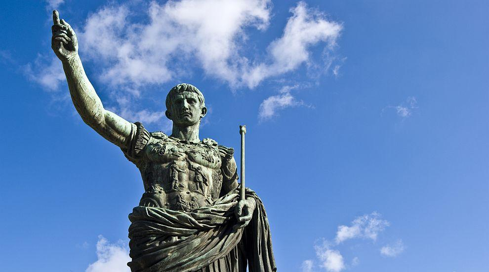 Така ли всъщност е изглеждала главата на Юлий Цезар?
