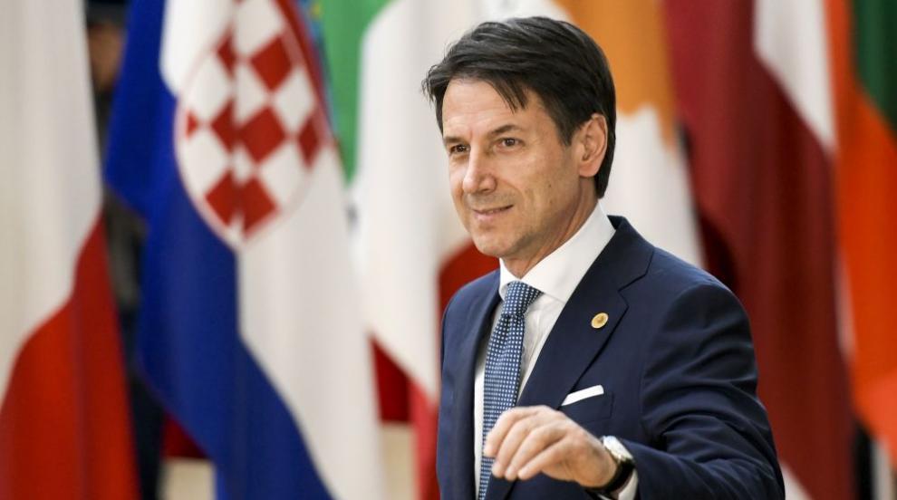 Италианският президент прие оставката на премиера Джузепе Конте
