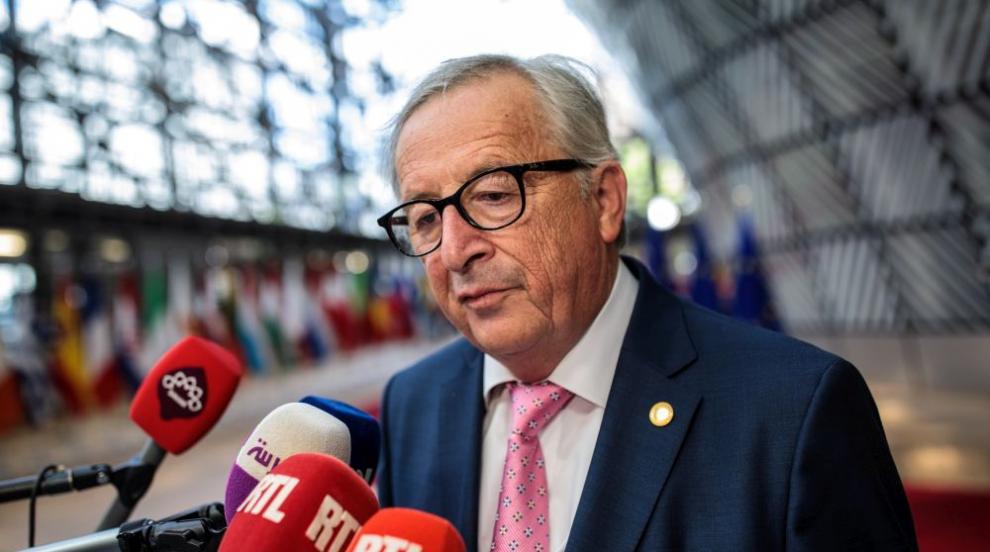 Юнкер залита преди вечеря в Брюксел, лидери му се притекоха на помощ (ВИДЕО)