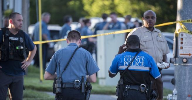 Стрелбата в редакцията на вестник