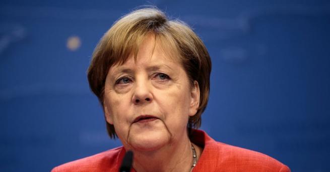 Германският канцлер Ангела Меркел подчерта подкрепата си за намирането на