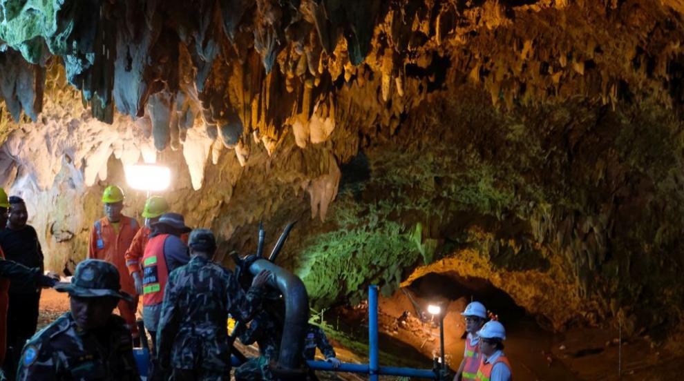 Пещерата-капан за група деца в Тайланд вече е място за туризъм