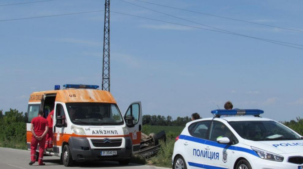 Един загинал и трима ранени след катастрофа край Велико Търново