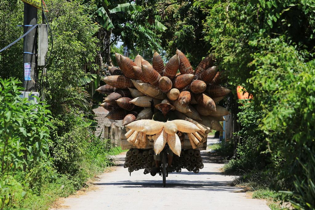 Рибните кошници вече не са широко използвани, но все още са важен източник на доходи по селата, изработвани в свободното време след сезона на прибиране на реколтата.