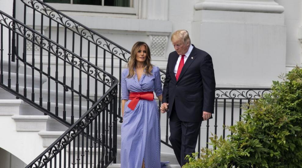 Урок по стил от Мелания: Госпожа Тръмп показа модния хит за лятото (СНИМКИ)