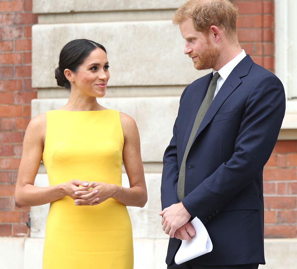 Принц Хари и херцогиня Меган