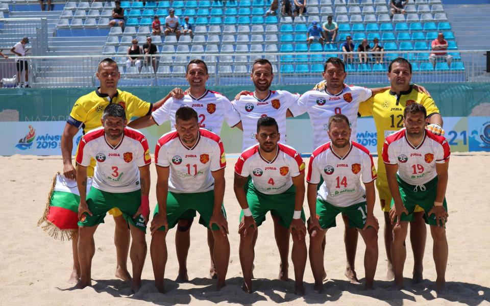Националите по плажен футбол биха Чехия и са на финалите на Евролигата
