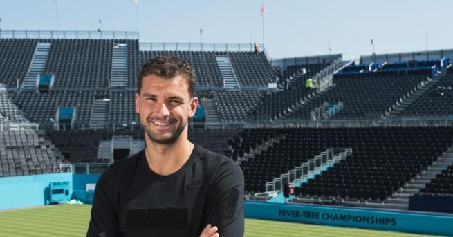 Най-добрият български тенисист Григор Димитров даде забавно интервю за английското