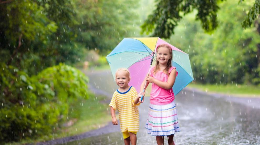 През следващите дни не забравяйте чадъра, ще се редуват слънце и дъжд