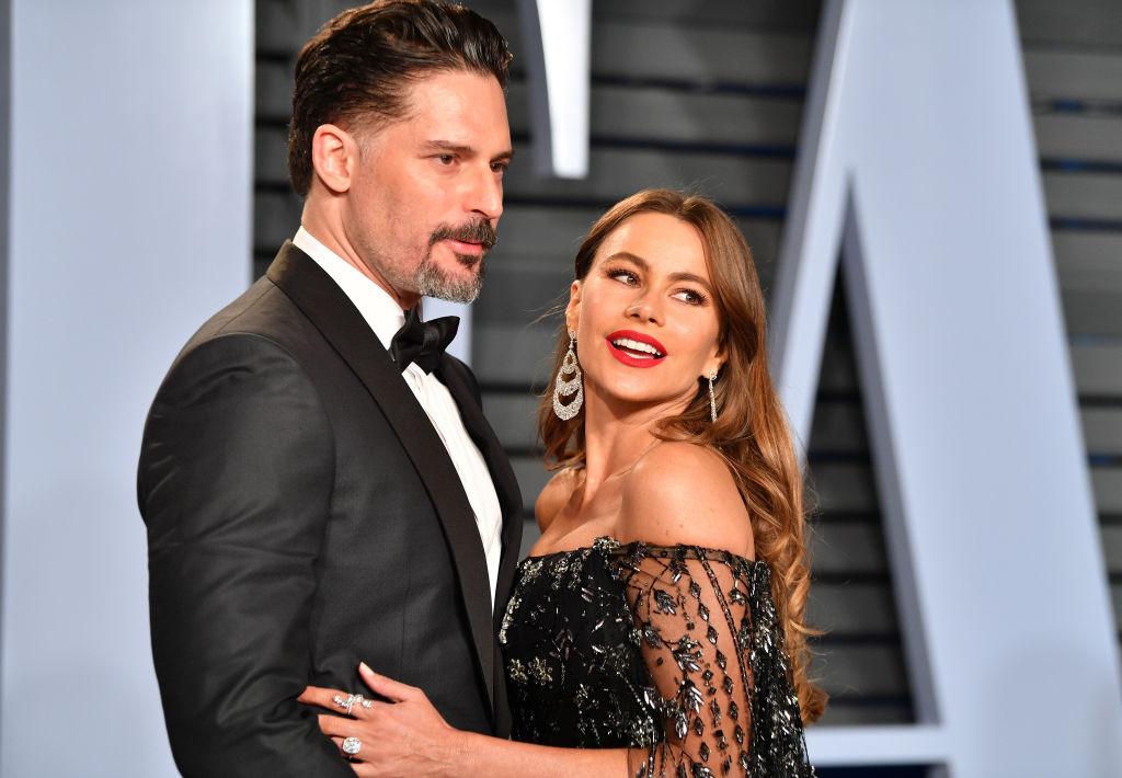 София Вергара и нейният съпруг Джо Манганиело
