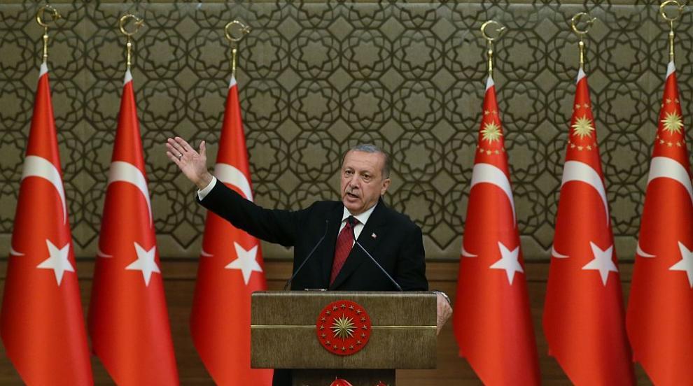Ердоган посочи първия вицепрезидент в историята на Турция, обяви и новия...