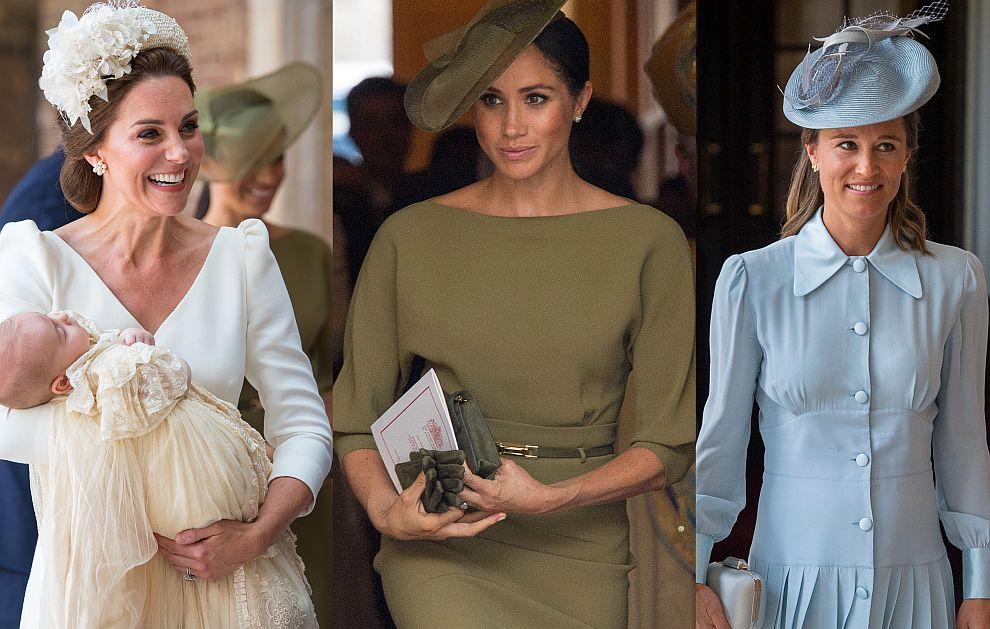 Херцогиня Катрин, херцогиня Меган и Пипа Мидълтън