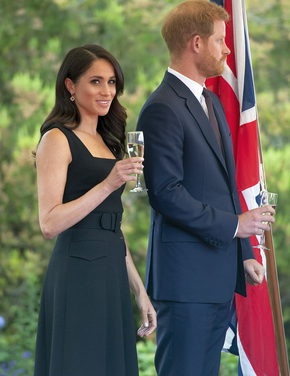 Принц Хари и херцогиня Меган в Ирландия