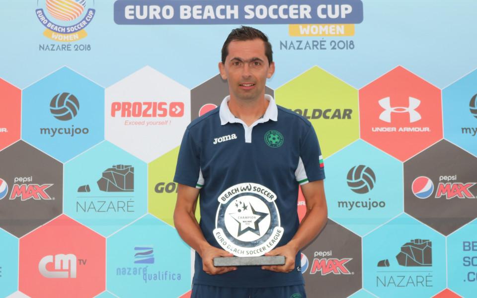 Треньорът на националите по плажен футбол: Отборът израства с всяка година