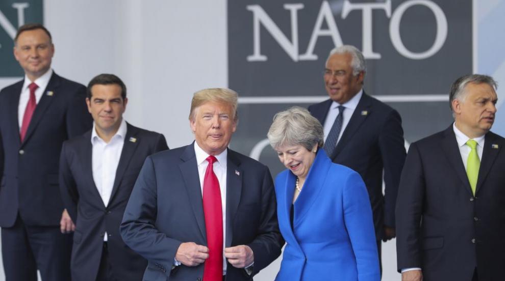Тръмп иска 4% от държавите в НАТО за отбрана (СНИМКИ/ВИДЕО)