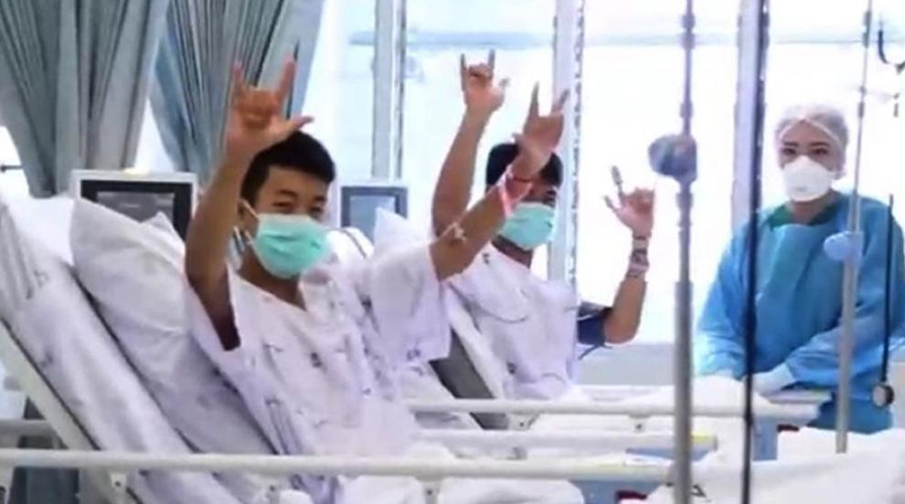 Спасените момчета от пещерата в Тайланд са добре