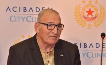 ЦСКА честити празника на Димитър Пенев