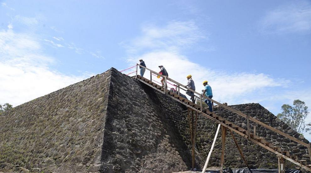 Опустошително земетресение в Мексико разкри храм в пирамида (ВИДЕО)