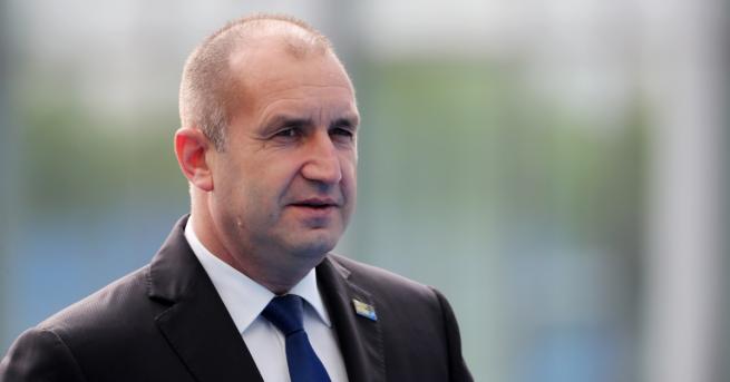 Президентите на България Румен Радев и на Турция Реджеп Ердоган