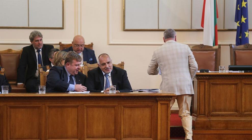 Борисов отчете европредседателството, какви бяха реакциите в НС