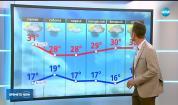 Прогноза за времето (13.07.2018 - обедна емисия)