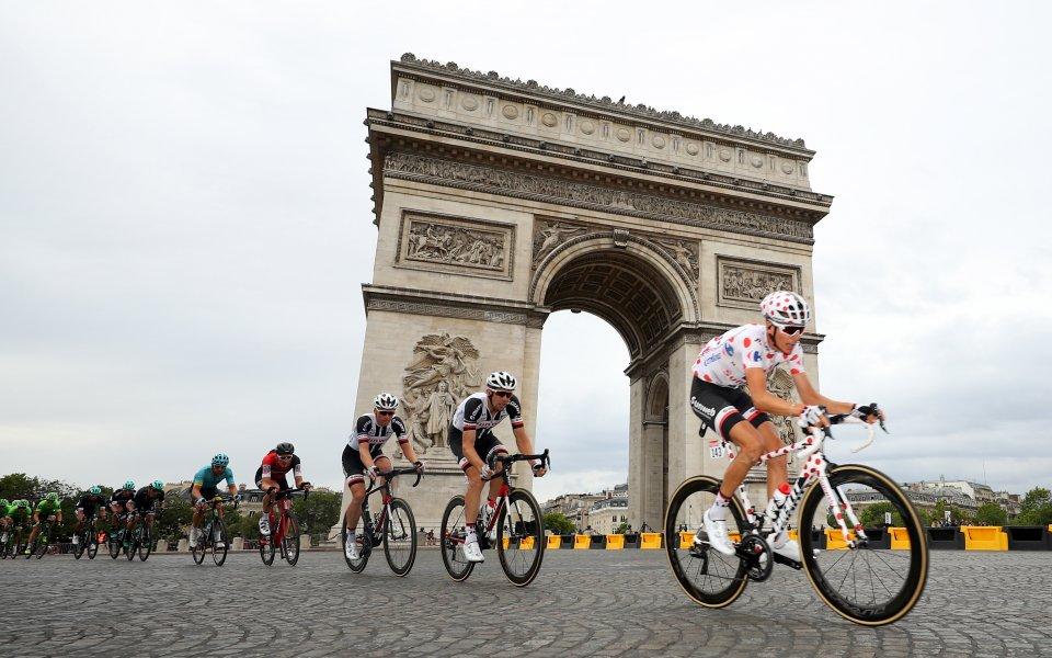 Дилан Грьоневеген взе втора поредна етапна победа в Тур дьо Франс