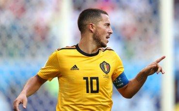 Селекционерът на Белгия: Азар трябва да отиде в Реал