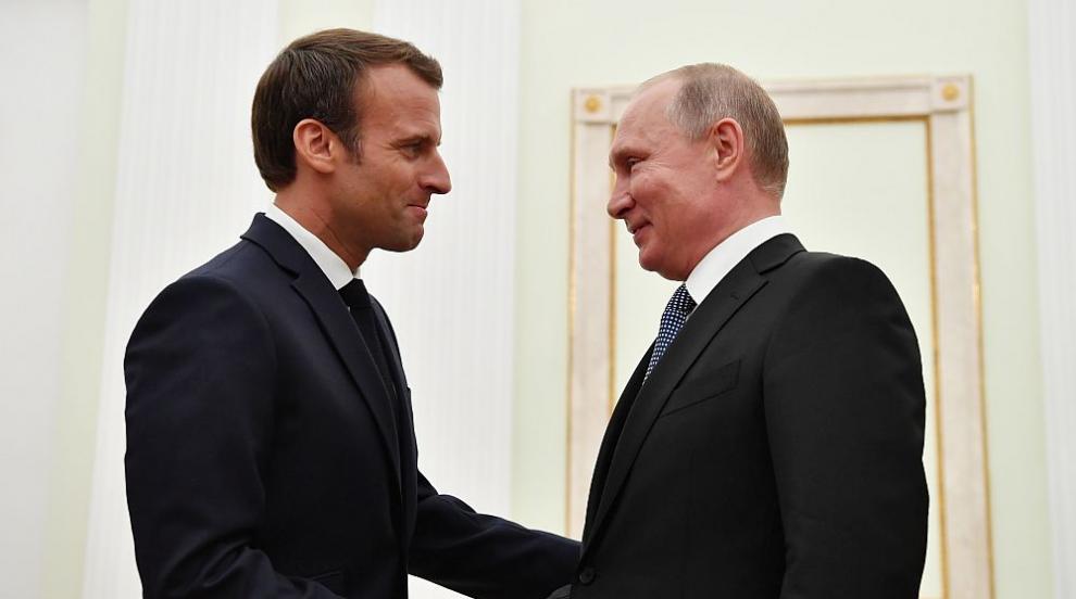 Путин към Макрон: Русия не иска протести като тези във Франция