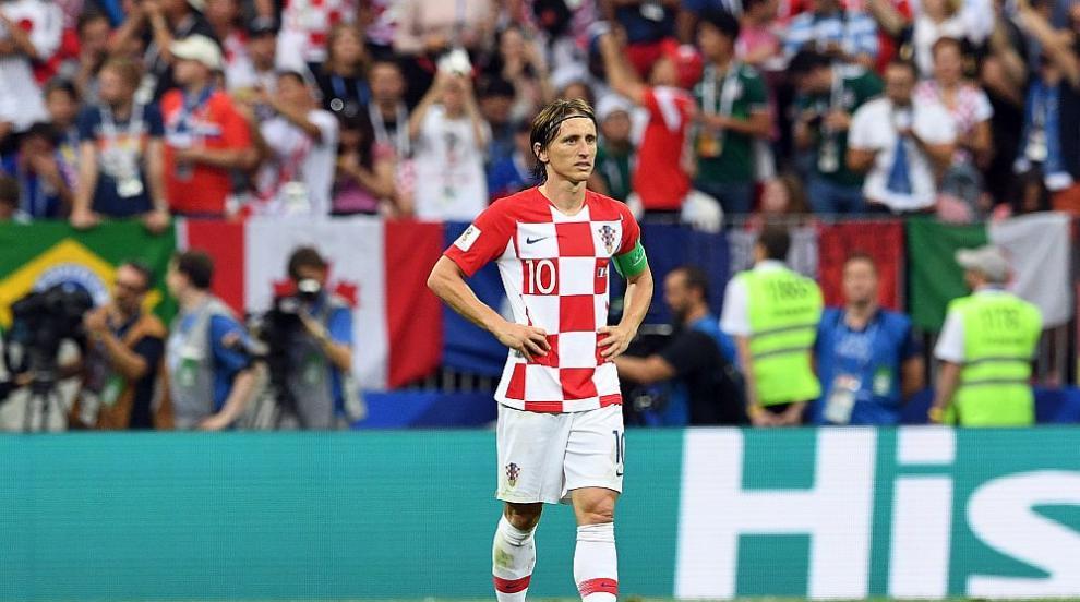 Утешителна награда: Лука Модрич е играч на Мондиал 2018