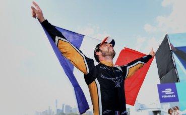 Френска радост и във Формула Е в Ню Йорк