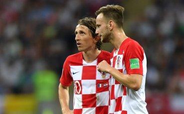 След финала Модрич и Ракитич размениха фланелки… един с друг