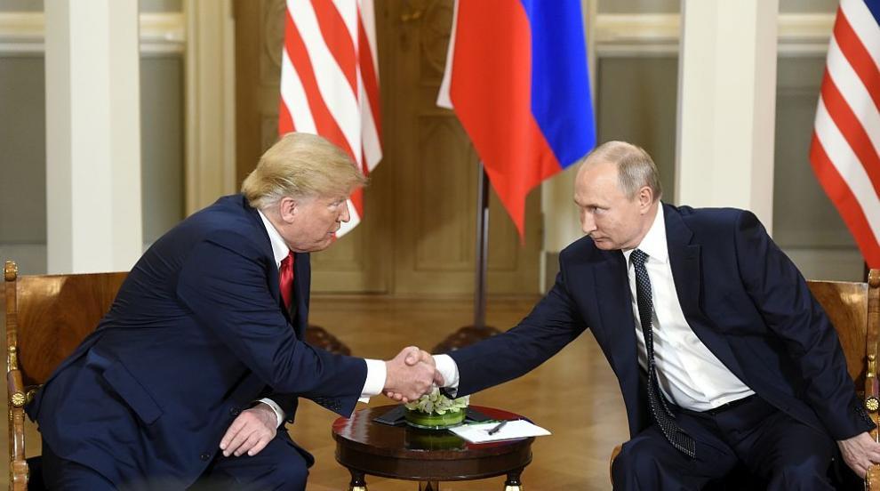 Започна срещата между Тръмп и Путин (ВИДЕО)