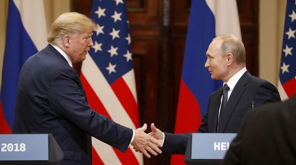 Пресата обяви Тръмп за предател след срещата му с Путин