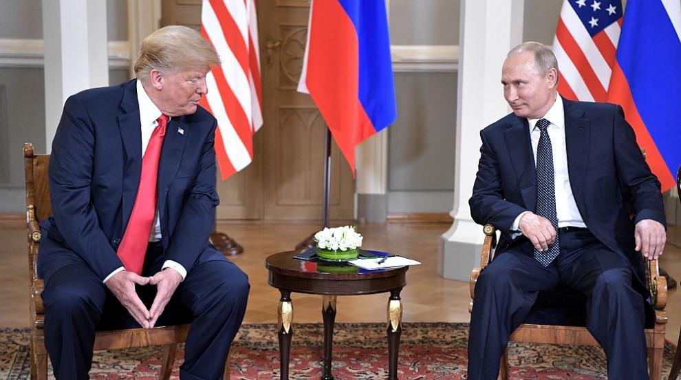 Световни медии, присъствали в Хелзинки: Тръмп намигна на Путин (ВИДЕО)