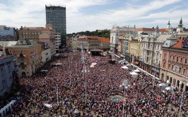 Всенародната любов заля хърватските герои