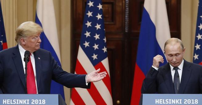 Президентът Доналд Тръмп заяви, че и САЩ, и Русия носят