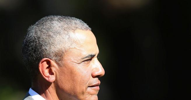 Барак Обама, първият чернокож президент на САЩ, отдаде вчера почит