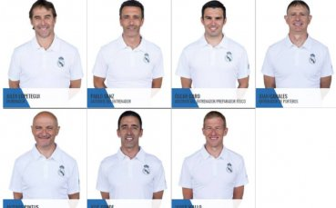 Новият треньор на Реал Мадрид попълни своя щаб