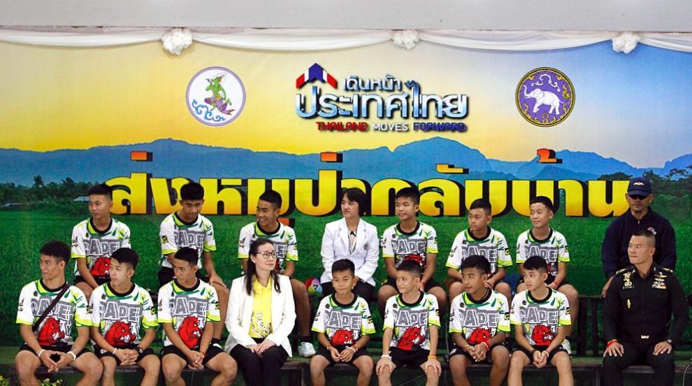 Спасените момчета от пещерата в Тайланд: Това е чудо (ВИДЕО/СНИМКИ)