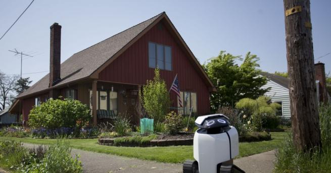 Роботи са готови да заменят доставчиците от плът и кръв.